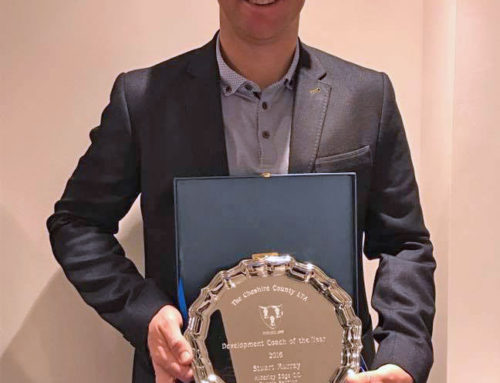 LOCAL COACH WINS REGIONAL AWARD FOR OUTSTANDING CONTRIBUTION TO TENNIS IN CHESHIRE